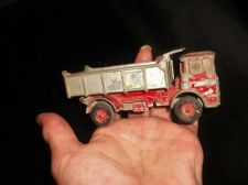 COLLECTABLE MATCHBOX LEYLAND TIPPER TRUCK K4 LESNEY 1969 KING SIZE